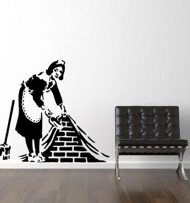 Rengøringsdame - Banksy