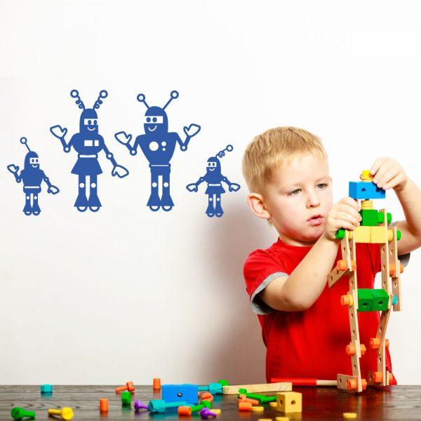 Robot familie
